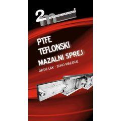 2M PTFE-TEFLON. MAZALNI SPREJ 400 ml